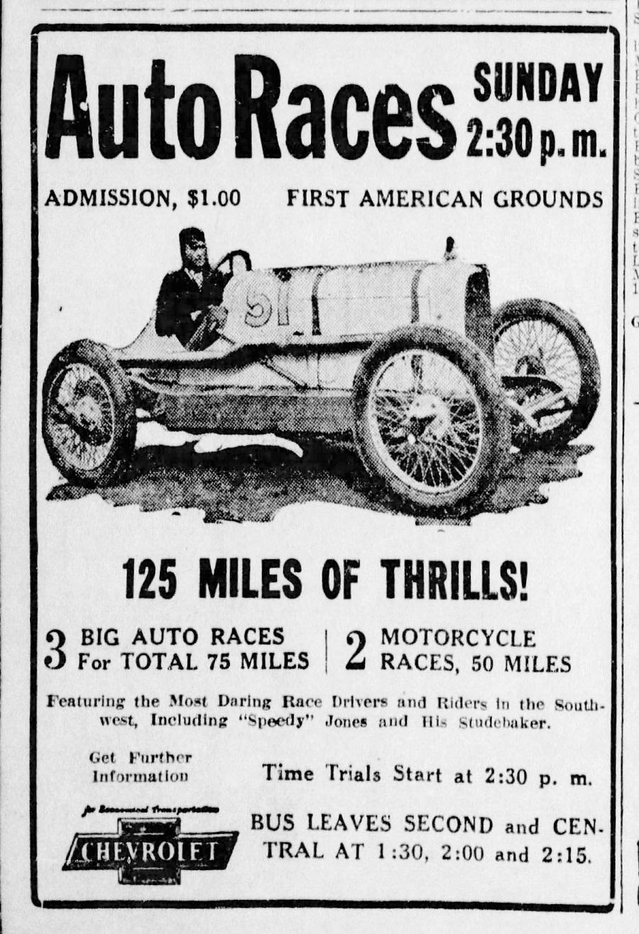 Alan Carlson - Researching Albuquerque Auto Racing History ...