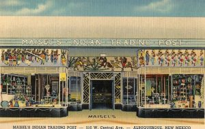 Postcard of Maisel's Indian Trading Post